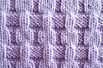Alternative Rib Stitch Pattern [FREE Knitted Stitch Pattern] | learnknittingonline.com