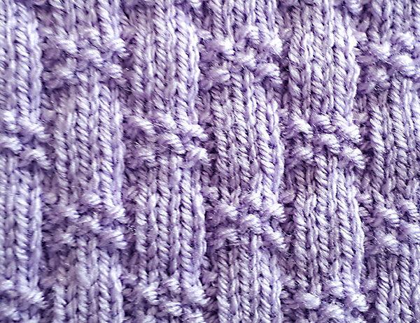 Basketweave Stitch Pattern (2) [FREE Knitted Stitch Pattern] | learnknittingonline.com