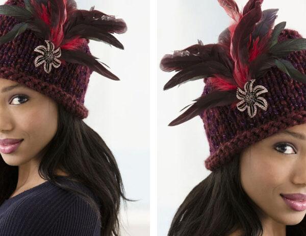 Brunch At Antoines Knit Hat [FREE Knitting Pattern]   learnknittingonline.com