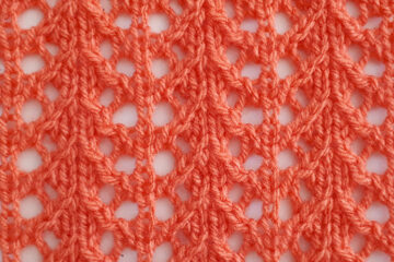 Crab Walk Stitch Pattern [FREE Knitted Stitch Pattern]   learnknittingonline.com