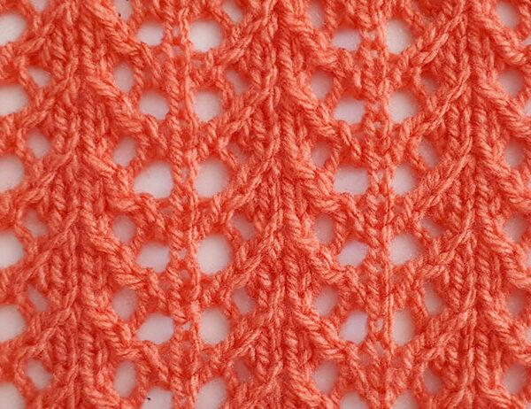 Crab Walk Stitch Pattern [FREE Knitted Stitch Pattern] | learnknittingonline.com