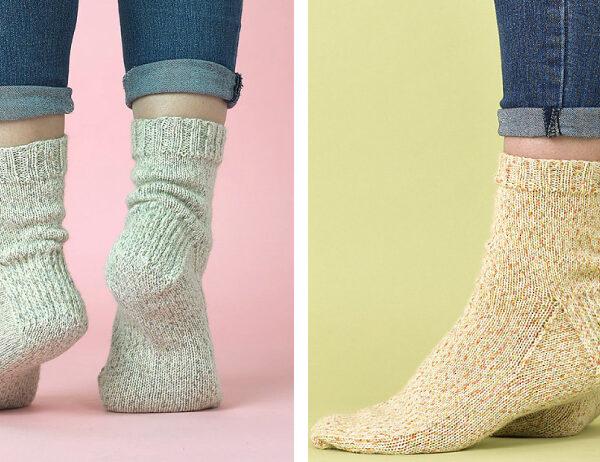 Knit Essential Socks [FREE Knitting Pattern]   learnknittingonline.com