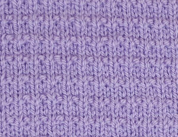 Fleck Stitch Pattern [FREE Knitted Stitch Pattern]   learnknittingonline.com