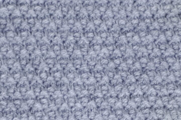 Garter Slip Stitch Pattern [FREE Knitted Stitch Pattern] | learnknittingonline.com