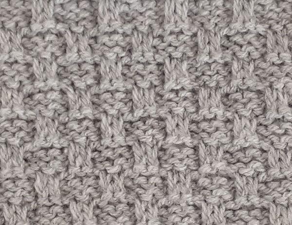 Garter and Slip Stitch Pattern [FREE Knitted Stitch Pattern] | learnknittingonline.com