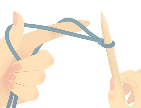 Slingshot Position Knitting Tutorial | learnknittingonline.com