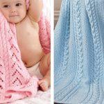 Try a Baby Blanket Knitting Pattern [FREE Knitting Patterns]