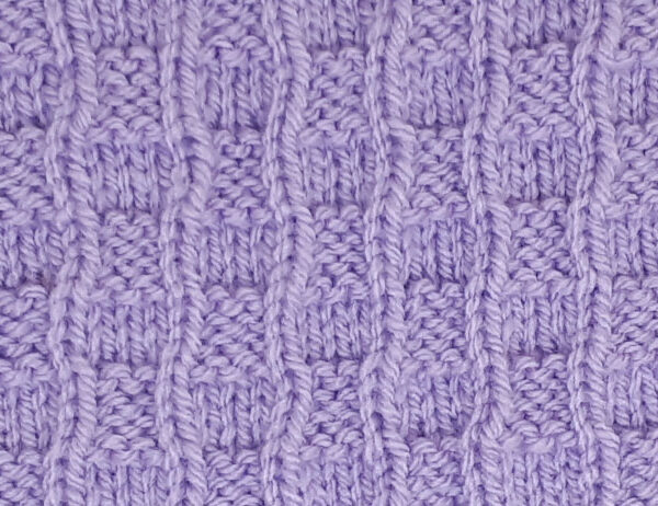 Ladder Stitch Pattern [FREE Knitted Stitch Pattern]   learnknittingonline.com