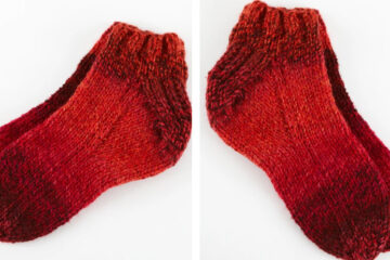 Lovely Knit Sockies [FREE Knitting Pattern] | learnknittingonline.com