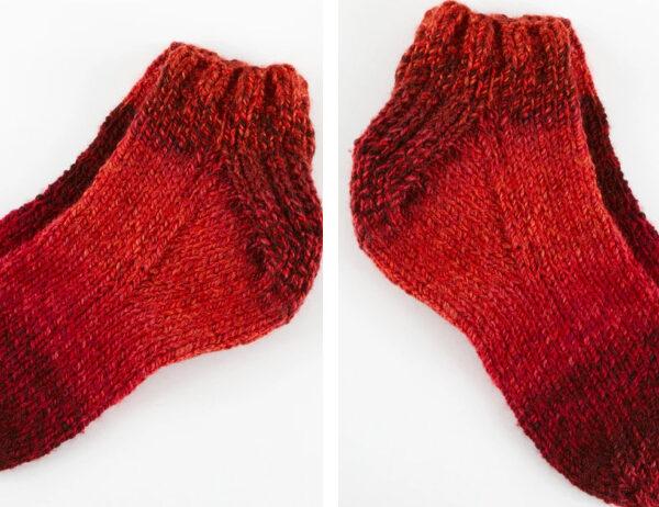 Lovely Knit Sockies [FREE Knitting Pattern]   learnknittingonline.com