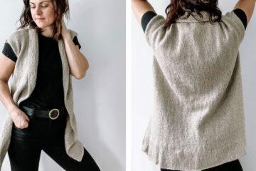 McInness Knitted Cardigan [FREE Knitting Pattern] | learnknittingonline.com