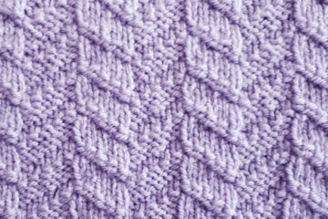 Mock Cable Stitch Pattern [FREE Knitted Stitch Pattern] | learnknittingonline.com