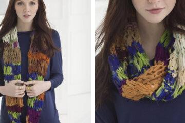 Pretty Providence Knit Cowl [FREE Knitting Pattern] | learnknittingonline.com