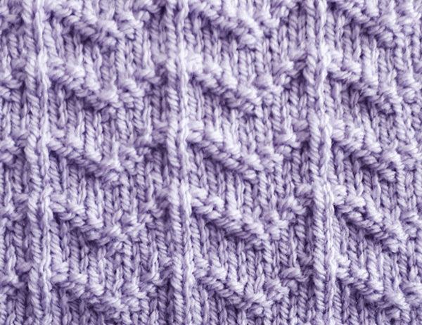 Ripple Stripe Stitch Pattern | learnknittingonline.com