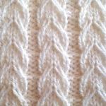 Slipped Cable Rib [FREE Knitted Stitch Pattern]