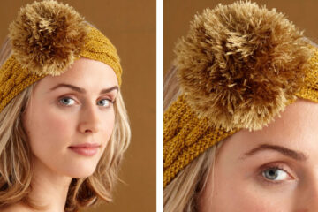 Sparkling Knit Headband [FREE Knitting Pattern]   learnknittingonline.com