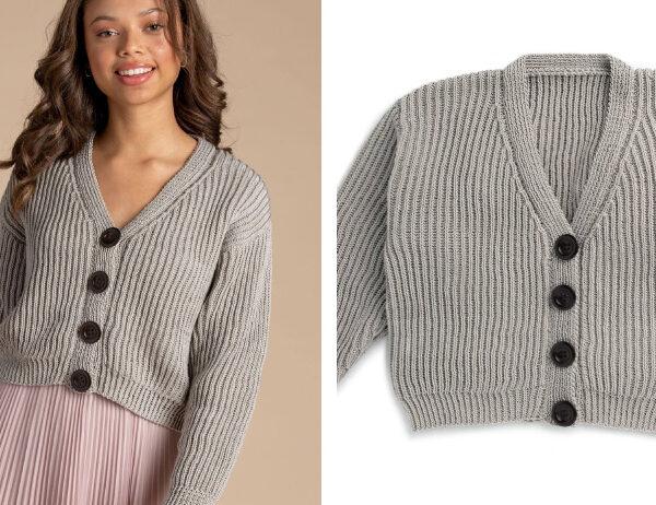 Trinity Bellwoods Knit Cardigan [FREE Knitting Pattern]   learnknittingonline.com