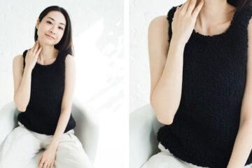 Vidala Knit Tank Top [FREE Knitting Pattern] | learnknittingonline.com