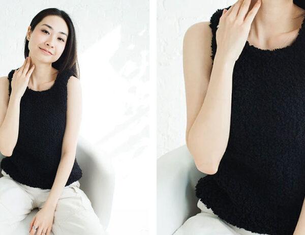 Vidala Knit Tank Top [FREE Knitting Pattern]   learnknittingonline.com