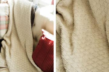 Wonderful Walla Knit Blanket [FREE Knitting Pattern] | learnknittingonline.com
