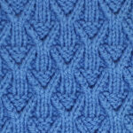 Wickerwork Stitch Pattern [FREE Knitted Stitch Pattern]
