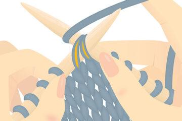 Basic Left-Slanting Decrease (SSK) [FREE Knitting Tutorial] | learnknittingonline.com